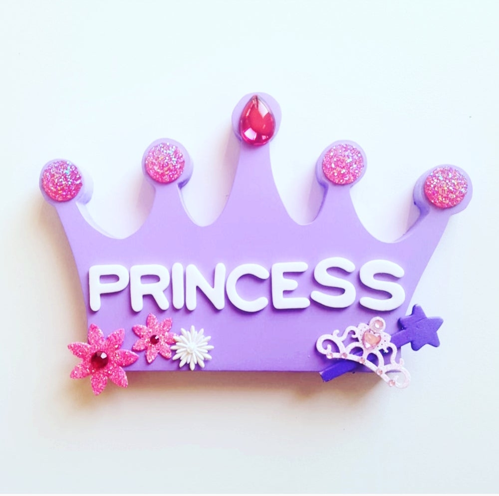 Image of Princess Plaques