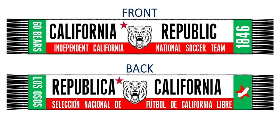 Image of California National Team Scarfs PRE-ORDER