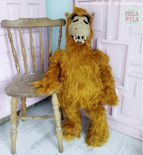 Image of Alf plush toy