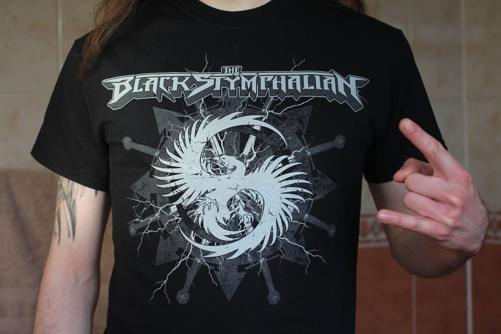 "Image of The Black Stymphalian - ""Khaos Wheel"" T-Shirt"