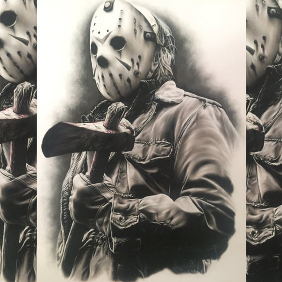 Image of Limited edition Jason print (A4)
