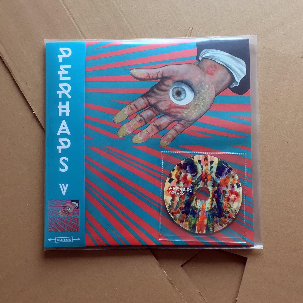 PERHAPS 'V' Vinyl LP w/ OBI Strip & 'V:Redux' CD-R