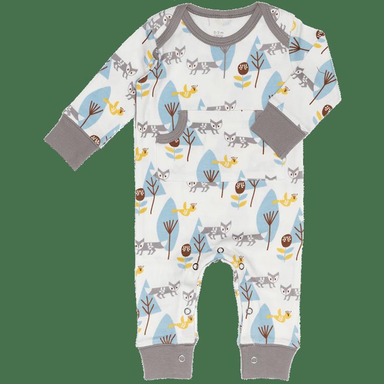 9acadbf9664 Organic Cotton Footless Baby Pyjamas