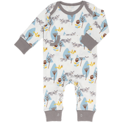 Image of Organic Cotton Footless Baby Pyjamas