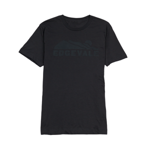 Image of Solid Logo Tee - Deep Charcoal
