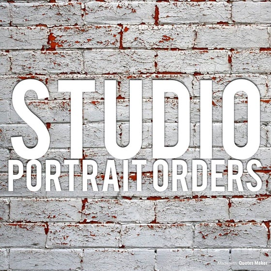 Image of Studio Portrait Orders (Including Quick Takes)