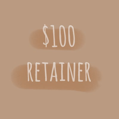 Image of $100 retainer for all sessions