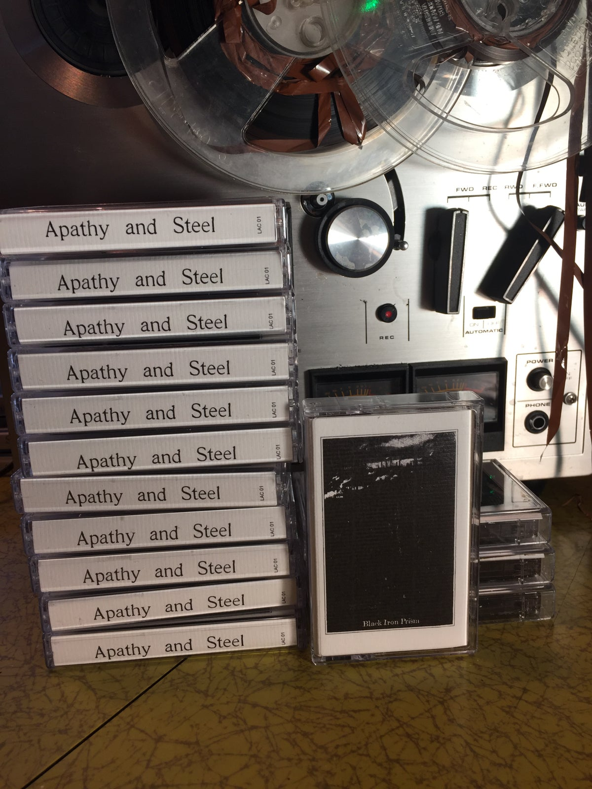 Image of Apathy & Steel - Black Iron Prism
