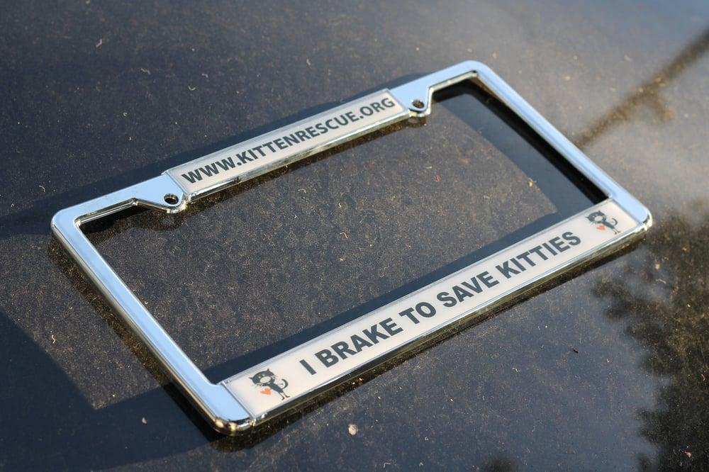 Image of License Plate Frame