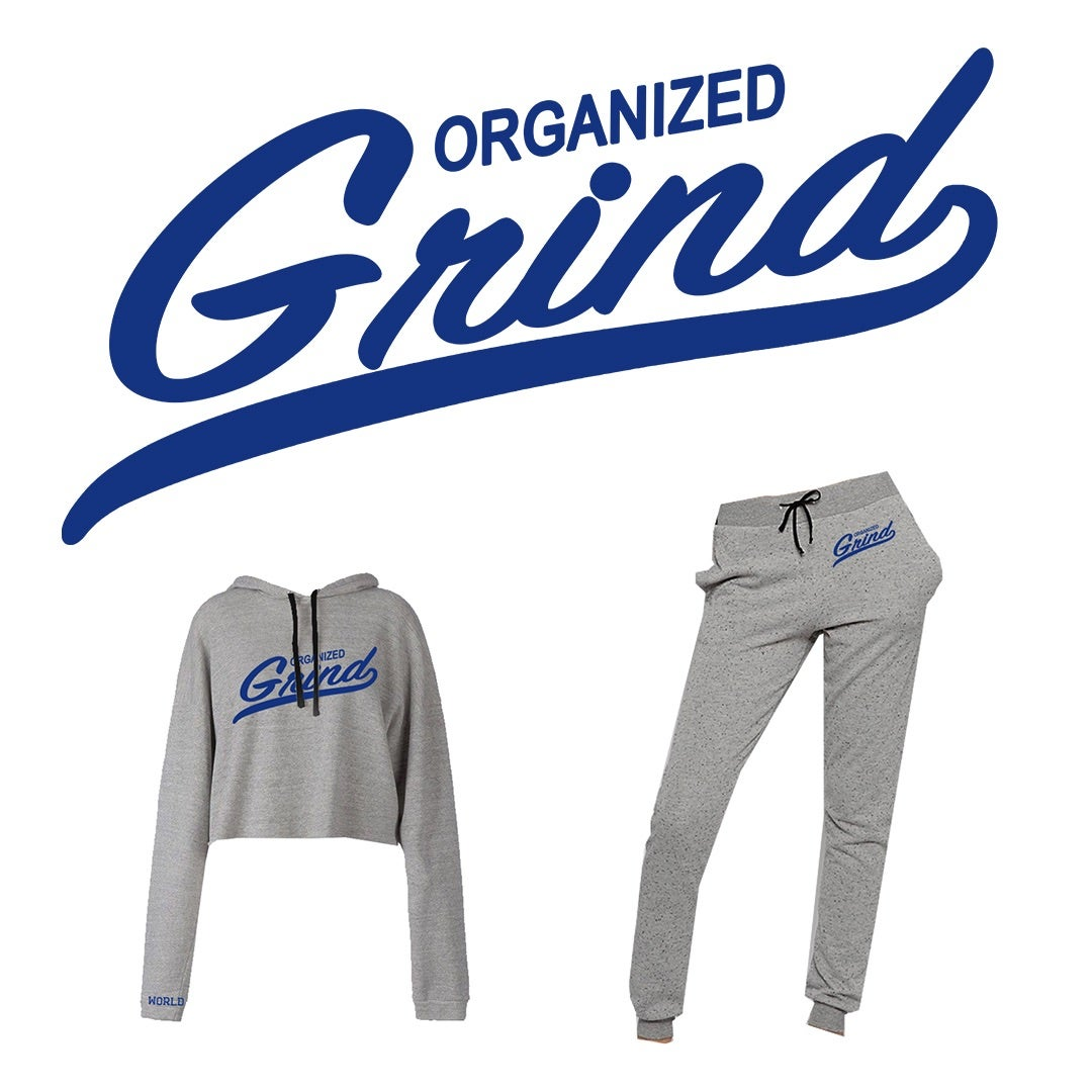 Image of OG Team Ladies Crop Top Hoodie & Sweats