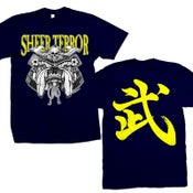 "Image of SHEER TERROR ""Samurai Bulldog"" T-Shirt"