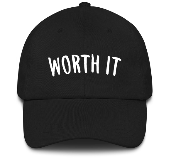 Image of Worth It (Black Snapback)