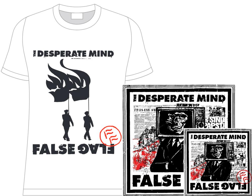 Image of The Desperate Mind - False Flag - Resistance Bundle