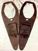 Image of TRIUMPH SPEEDMASTER AND AMERICA LEATHER TANK BIB WITH POCKET