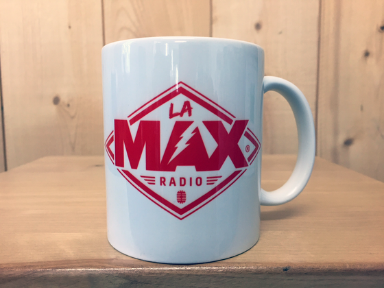 Image of MUG - LA MAX RADIO ROUGE - FRAIS DE PORT INCLUS EN FRANCE