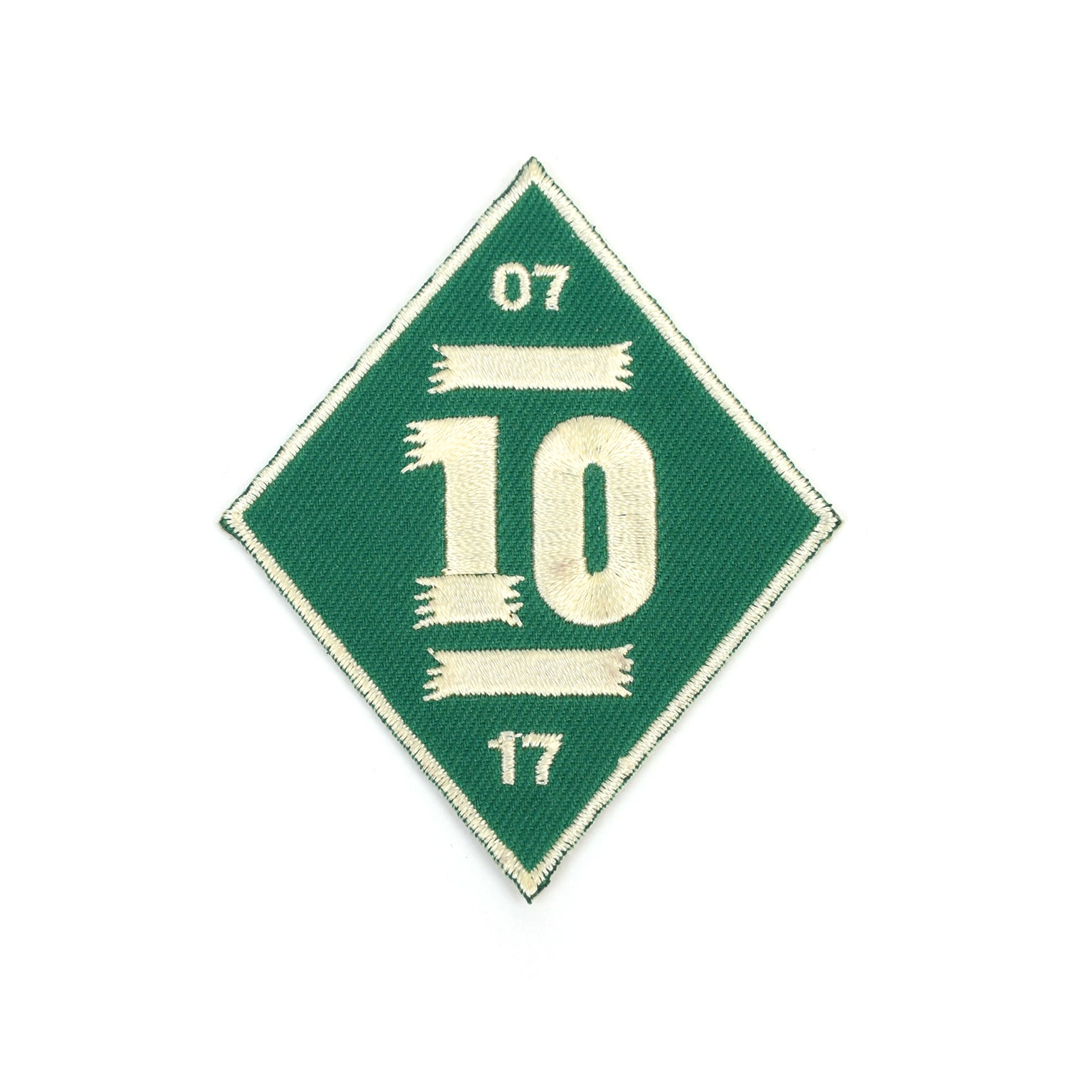 Image of PIP 'LEKKER 10' PATCH | FOREST GREEN