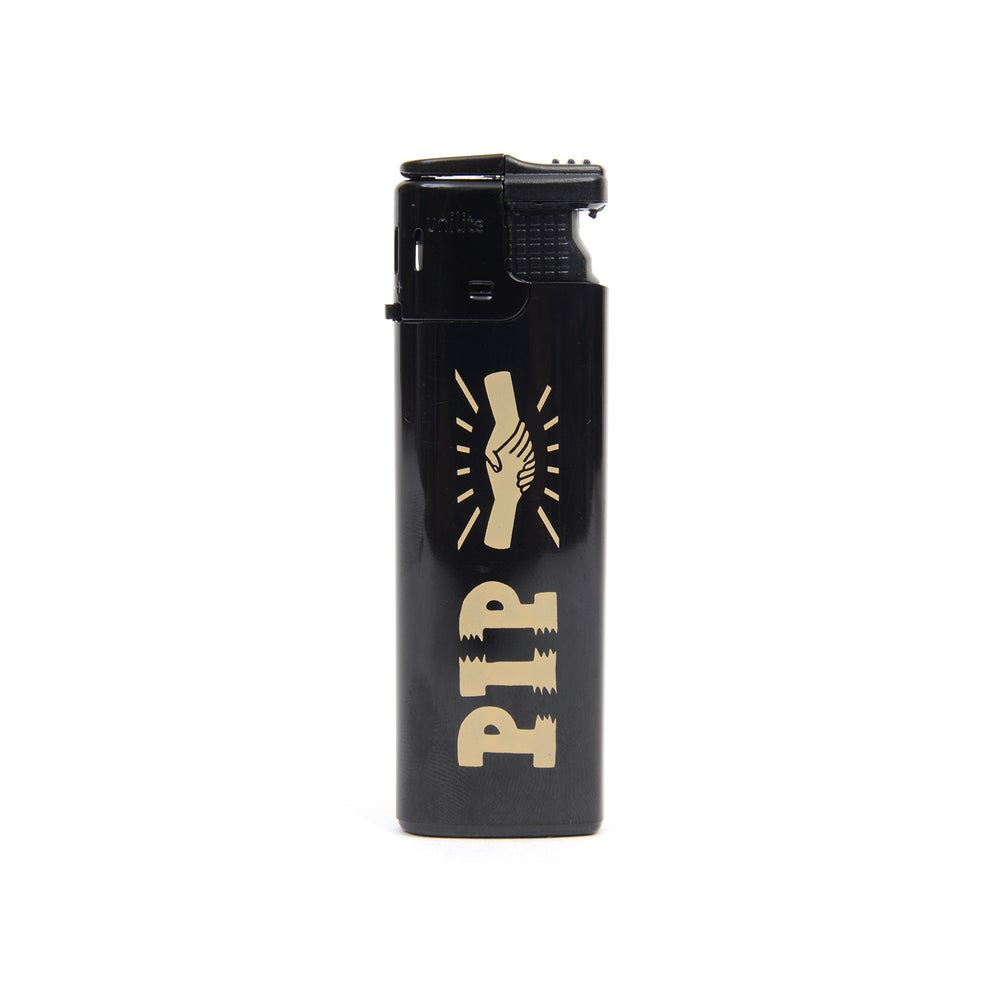 Image of PIP 'HANDSHAKE' LIGHTER | BLACK