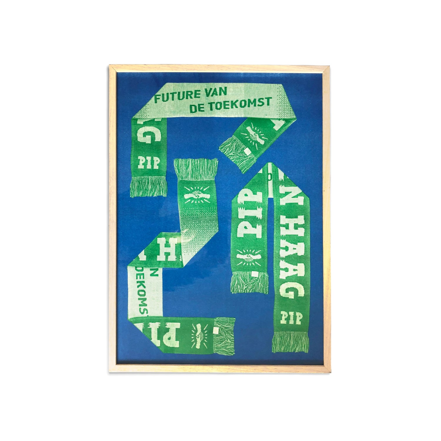 Image of PIP 'FVDT SCARF' RISO PRINT A2