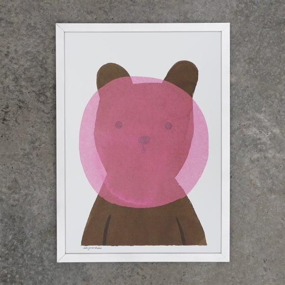 Image of Print | Bubblegum Bear