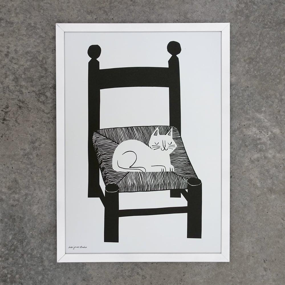 Image of Print | Catnap
