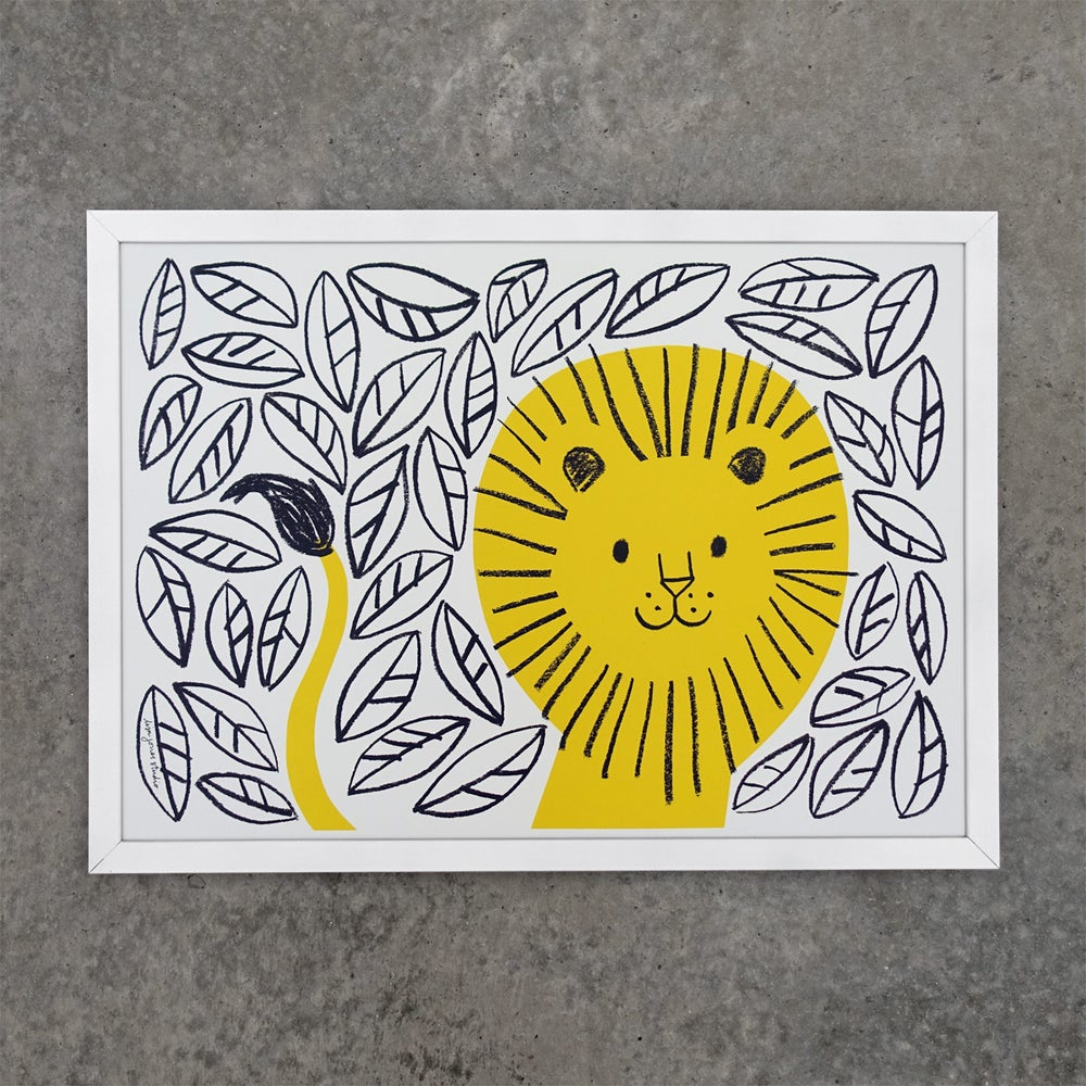 Image of Print | Jungle Lion