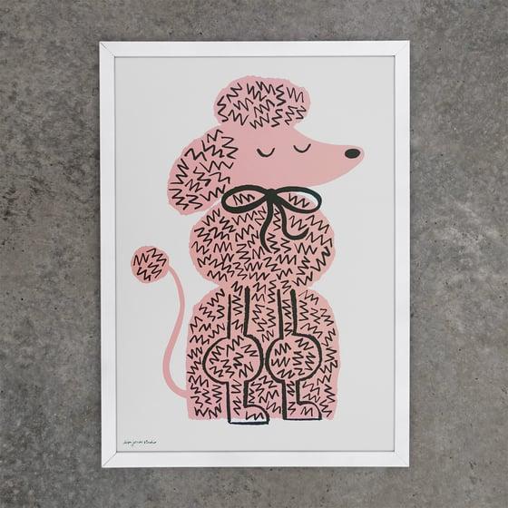 Image of Print | Pink Pooch