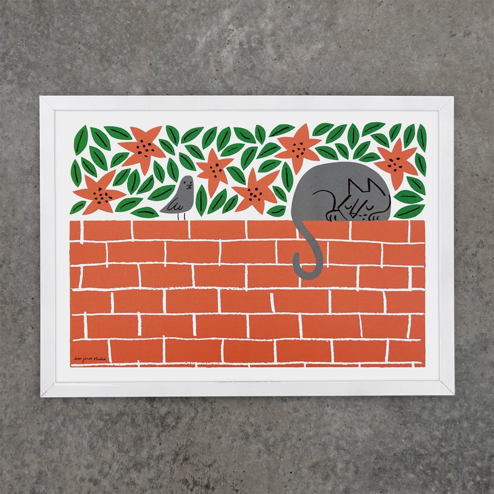 Image of Print | Wallflower