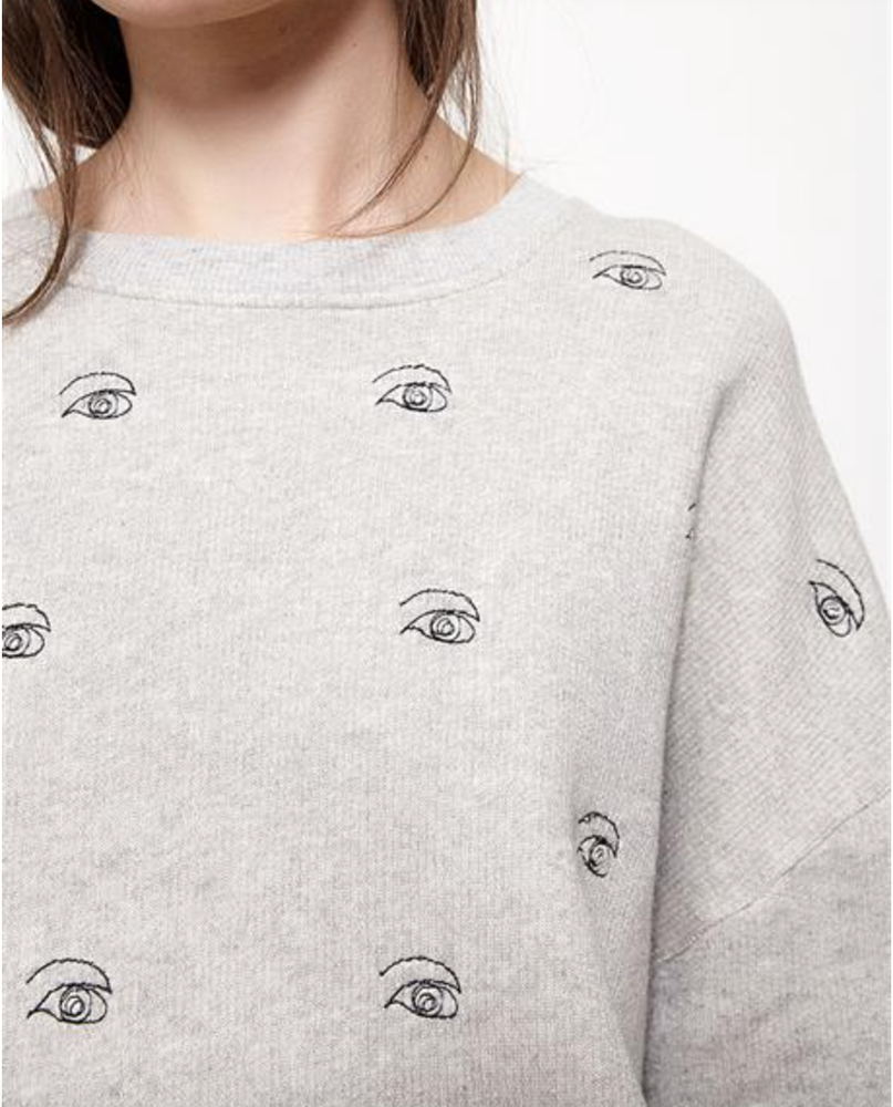 Image of Sweat AUGUSTIN broderie oeil 95€ -50%