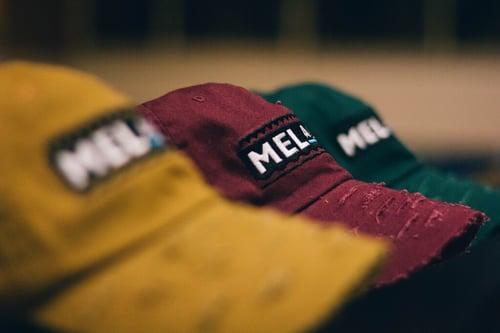 "Image of ""Martin"" Burgundy Melanin Hat"