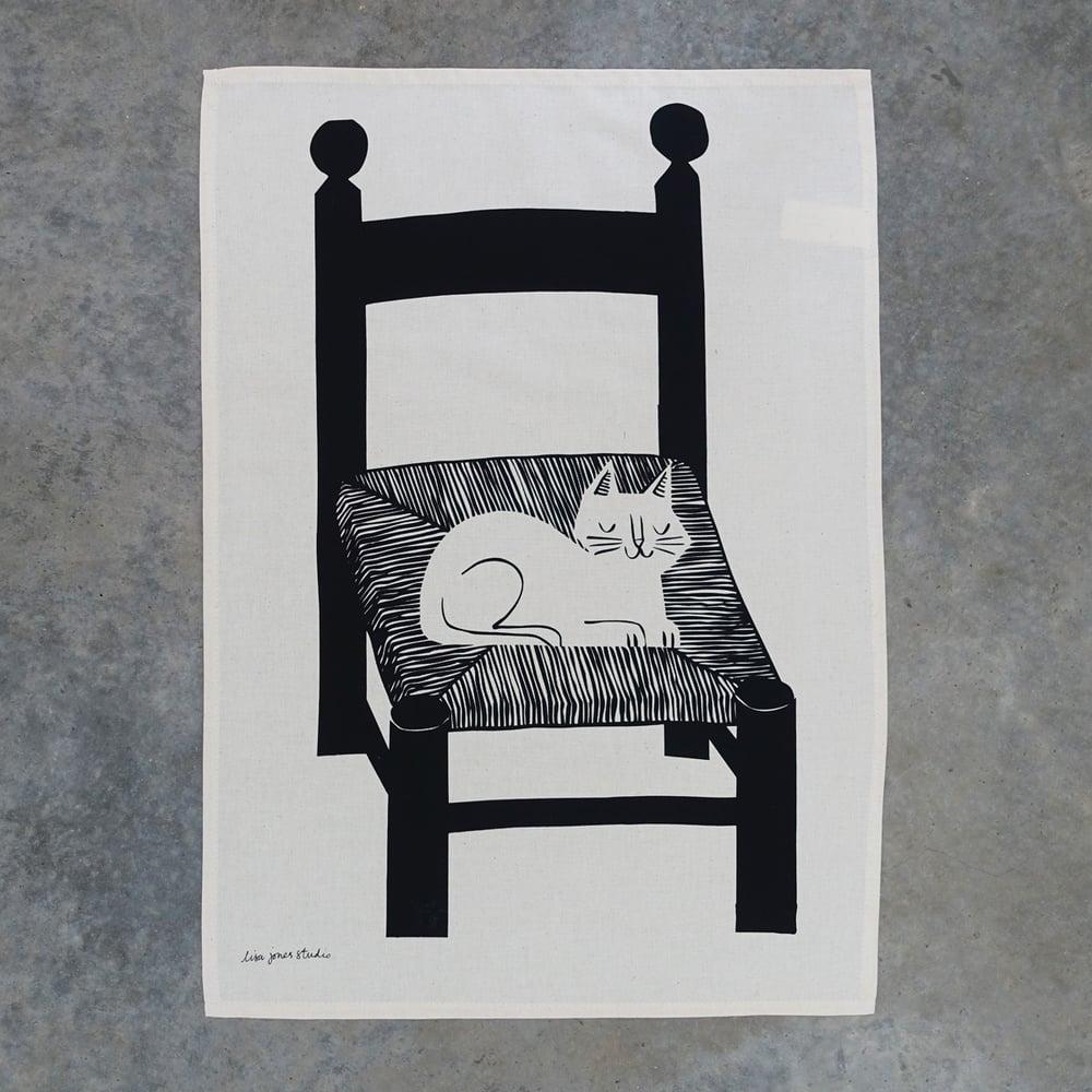 Image of Tea Towel | Catnap