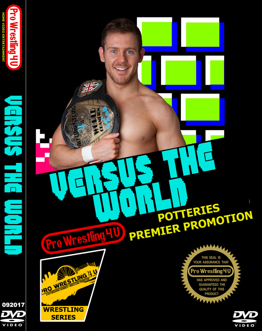 Image of PW4U Versus The World DVD