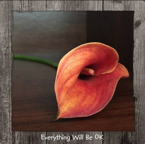 Image of Everything Will Be OK Framed Statement