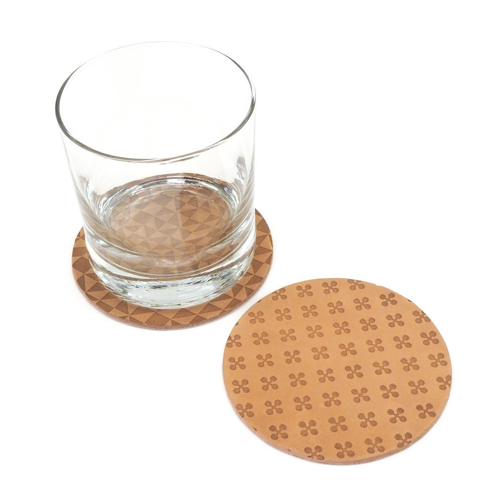Image of LeatherPress Coasters