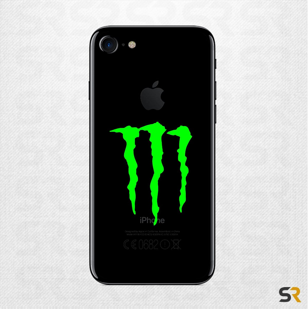 Monster Energy Iphone Decal Monster Energy Phone Decal