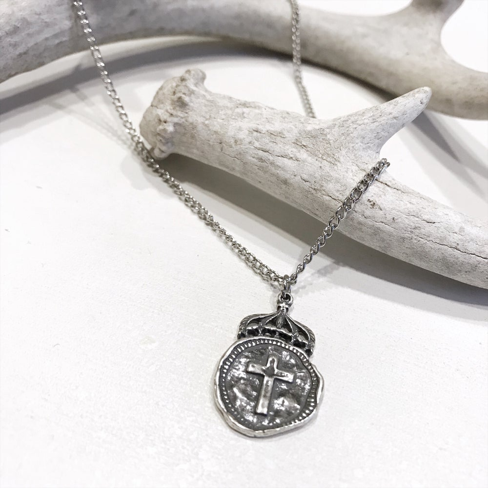 Image of Silver Crown Cross