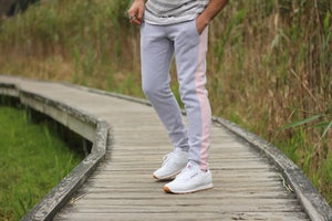 Image of Color Stripe Sweats