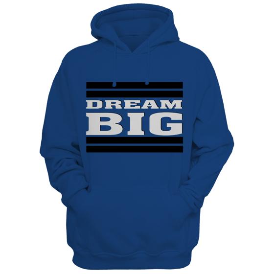 Image of Dream Big Lifestyle Hoodie (Royal Blue)