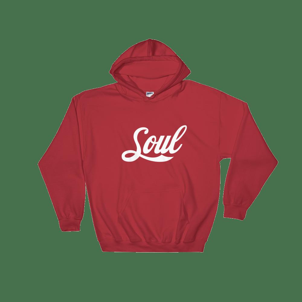 Image of Soul (Coke Font/ Red / White)
