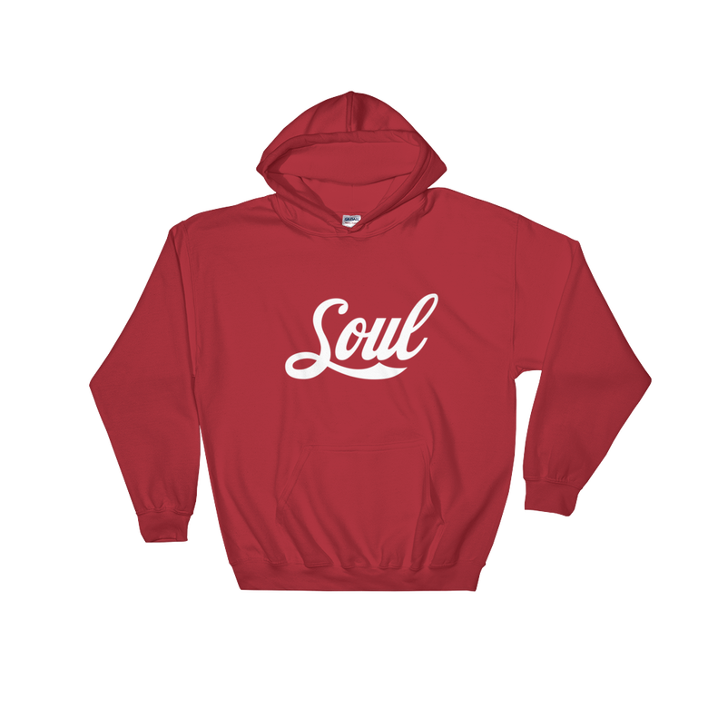 Image of Soul (Coke Font/ Red / White)