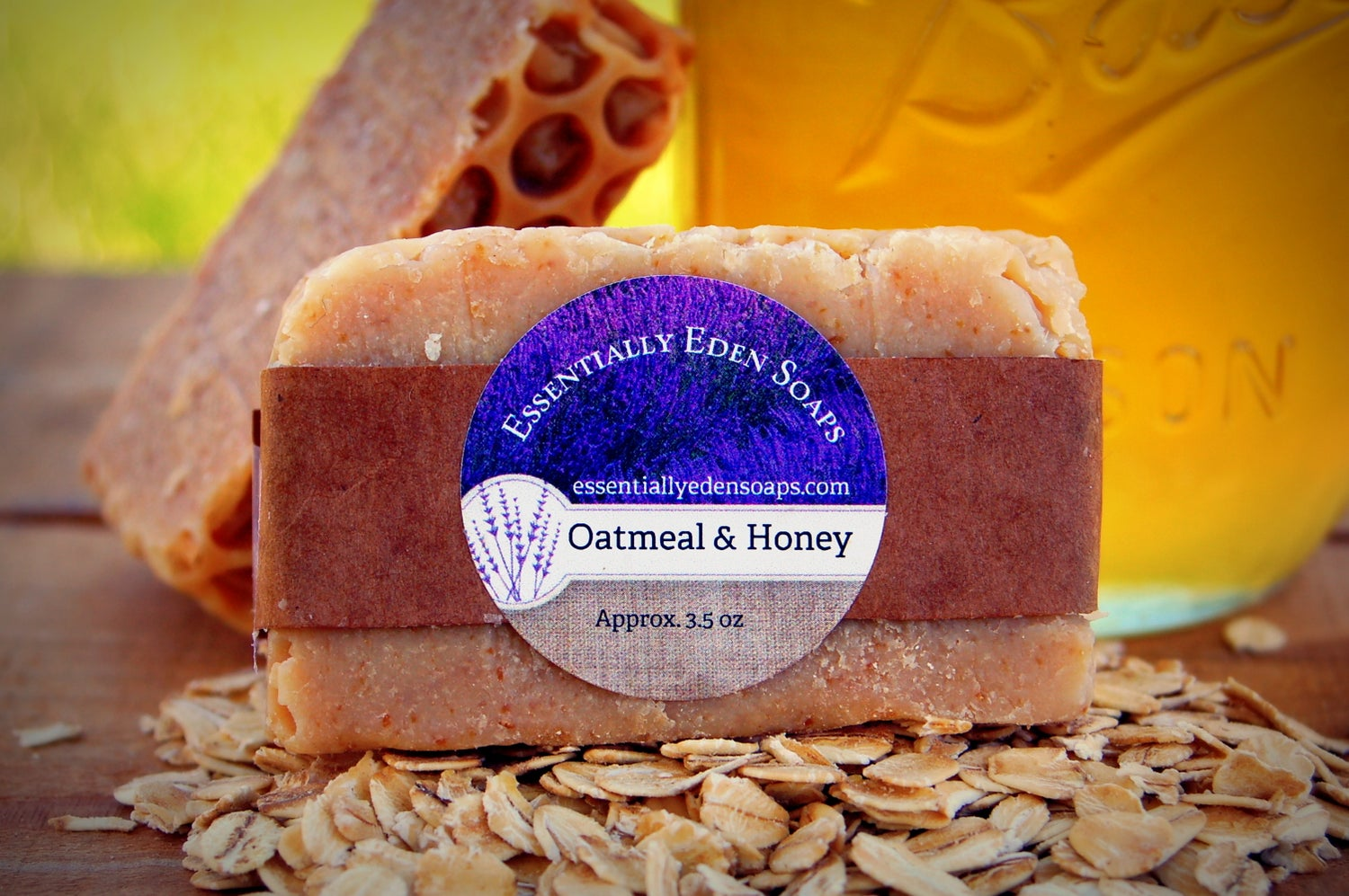 Image of Oats & Honey Shaving Soap