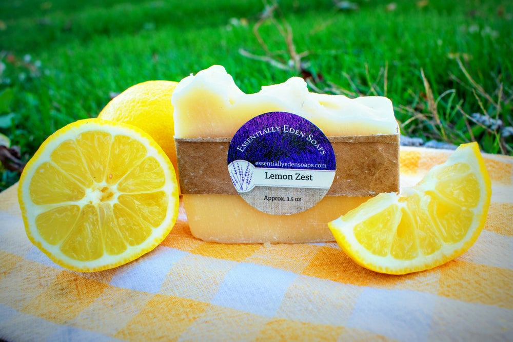 Image of Lemon Zest Soap