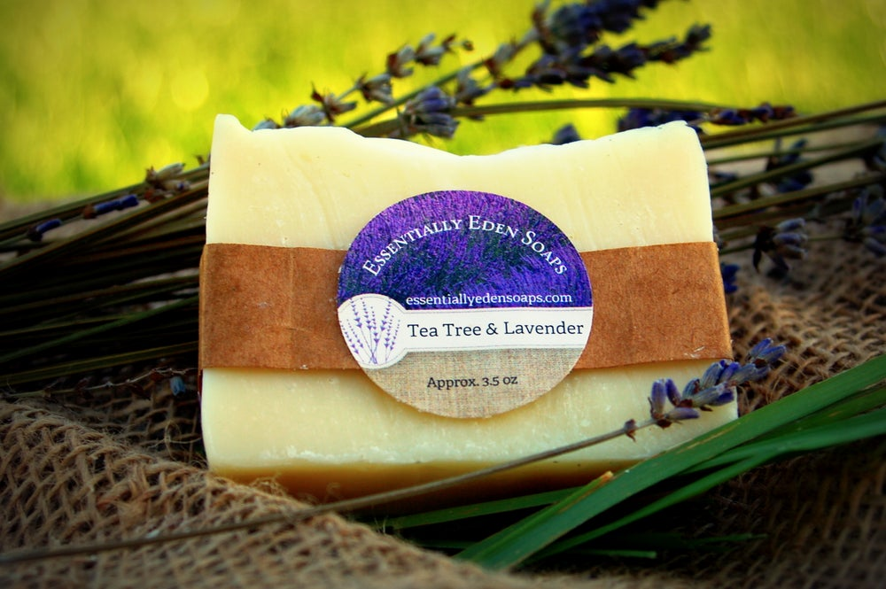 Image of Lavender & Tea Tree Soap