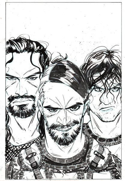 Image of The SHIELD- WWE