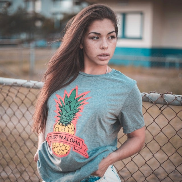 Image of TRUST IN ALOHA T-SHIRT