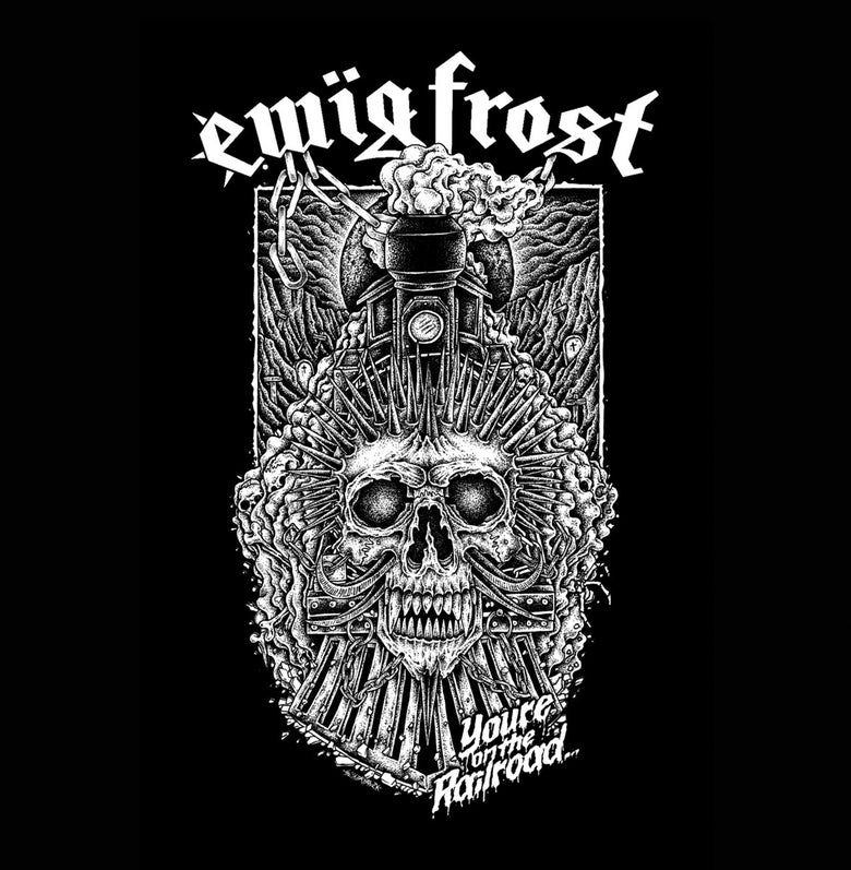 Image of Ewig Frost - The Railroad To Hell 7""