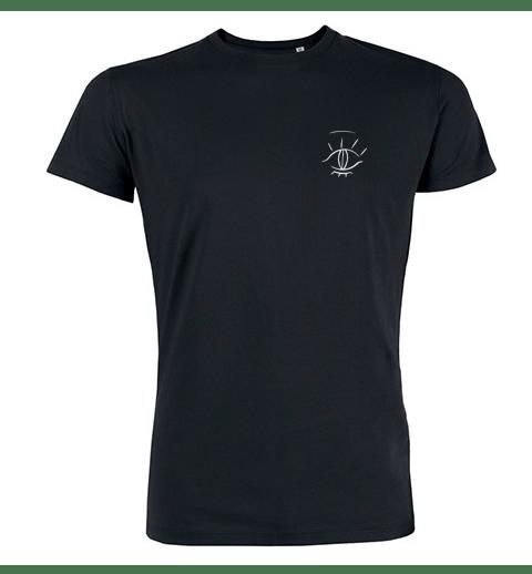 Image of T-shirt brodé Homme - Noir