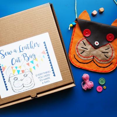 Image of Sew a Cat Bag Kit