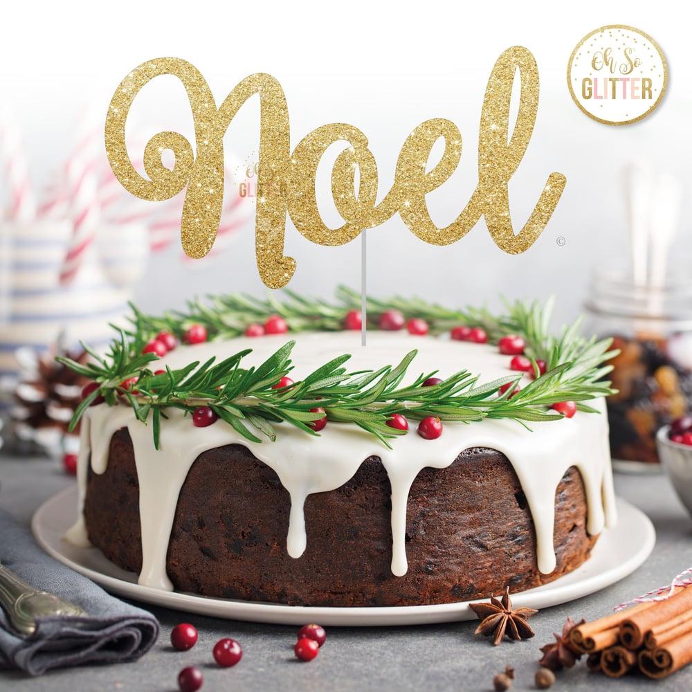 Image of Noel cake topper