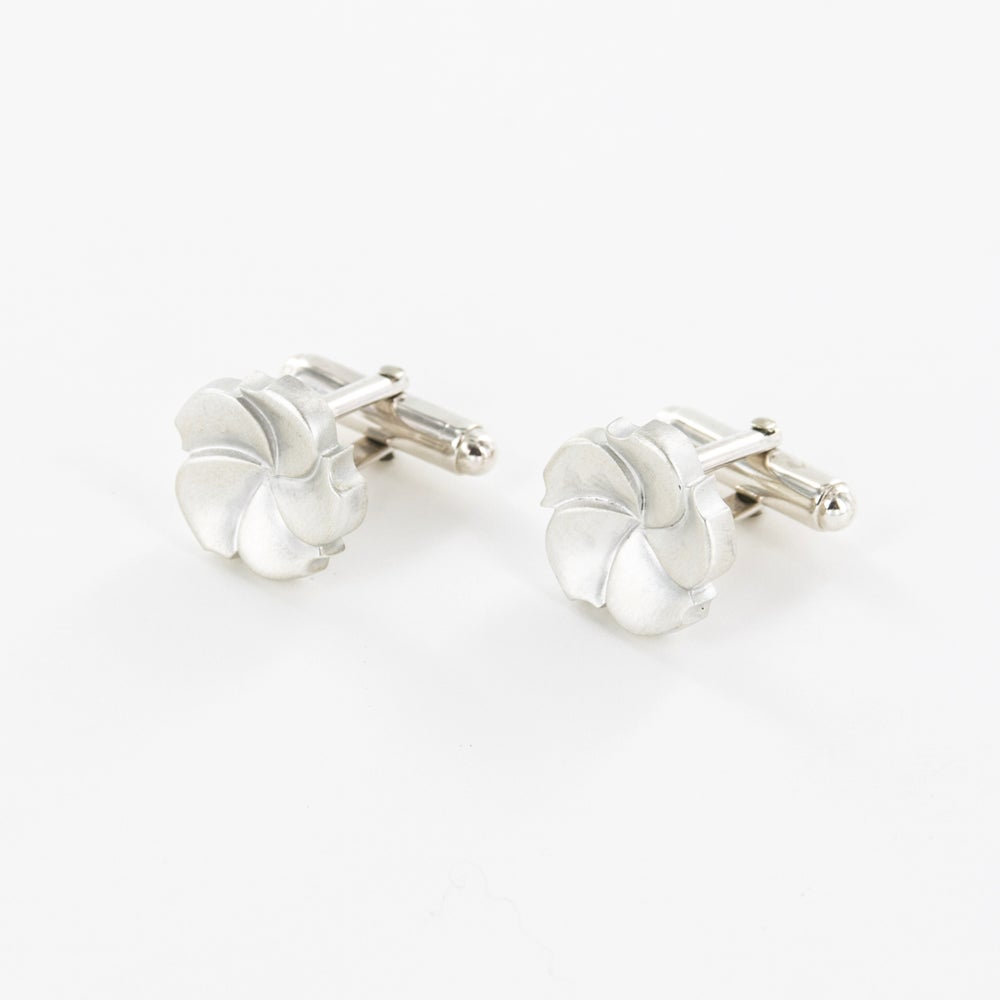 Image of Boutons de manchette Garden Party - Collection Mariage