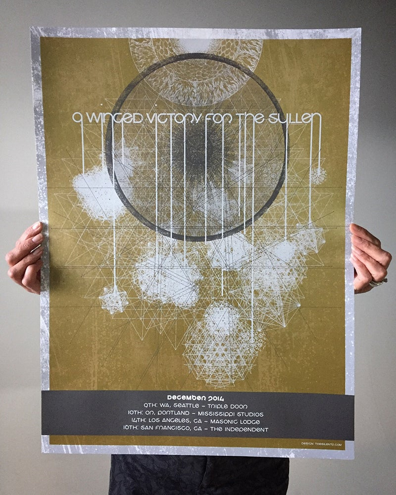A Winged Victory for the Sullen Tour Poster